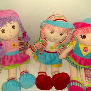 Bundle of 3 Lollipop 🍭 Dolls